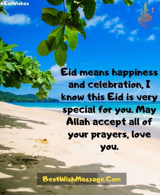 Eid Means Happiness