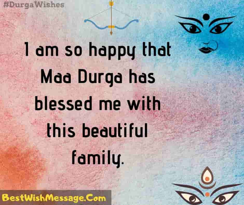 Durga Puja Messages for Family