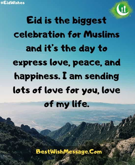 Eid Wishes for Her