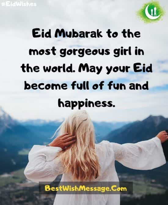 Eid Messages for GF