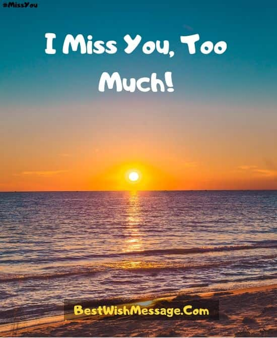 I Miss You Messages for Boyfriend