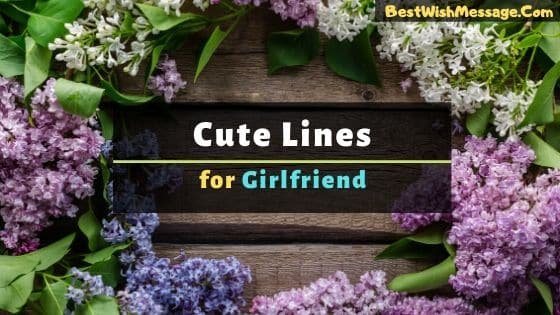 cute lines for gf