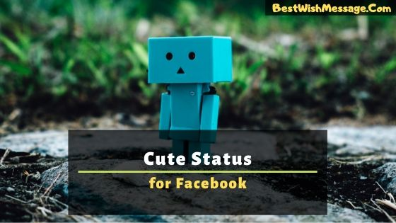 Cute Status for Facebook