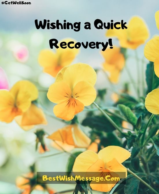Quick Recovery Wishes After Accident