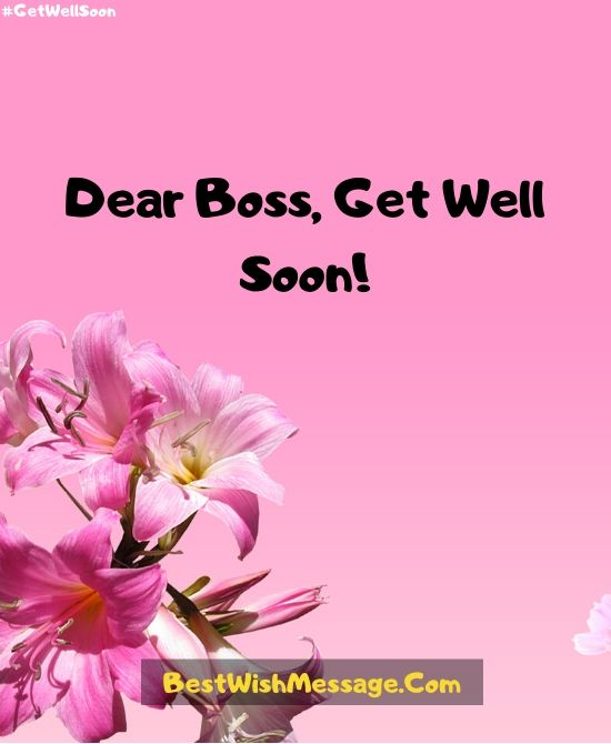 Get Well Soon Wishes After Surgery