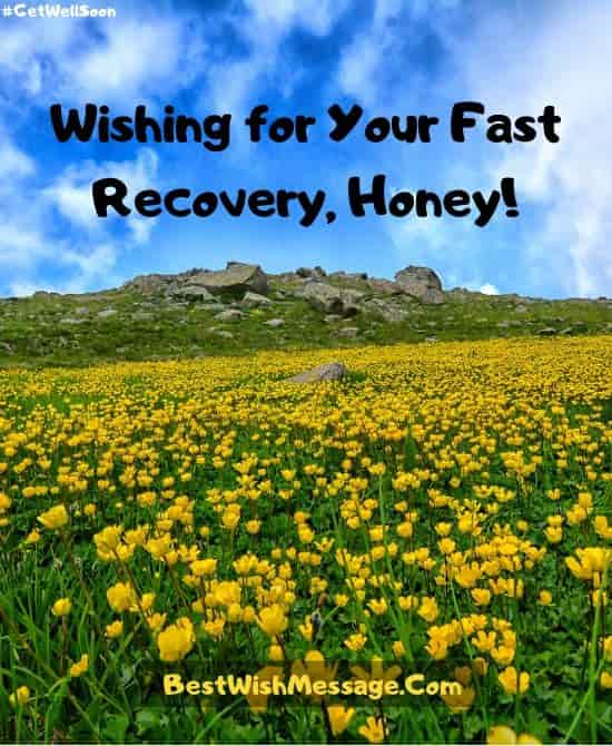 Recovery Wishes for Boyfriend