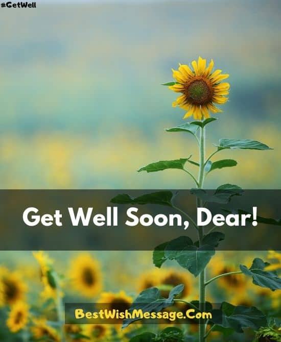 Get Well Soon Messages for Nephew