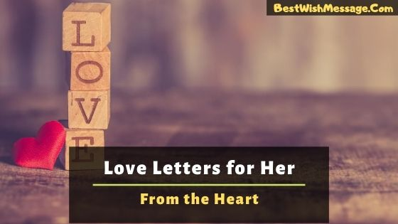 Love Letters for Her From the Heart