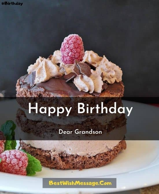 Birthday Wishes for your Grandson's 16th Birthday