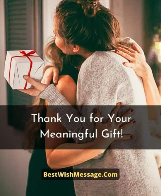 Thank You Messages to Friends for Wedding Gifts