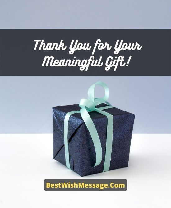 Appreciation Messages to Brother/Sister for Wedding Gift