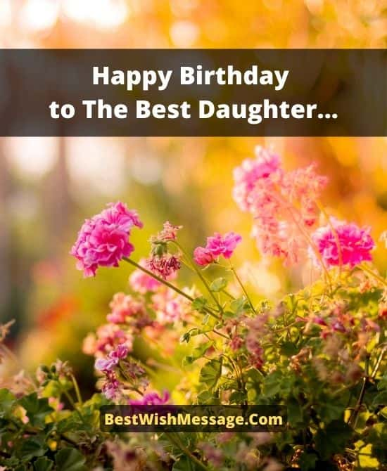 1st Birthday Wishes for Daughter from Mom and Dad