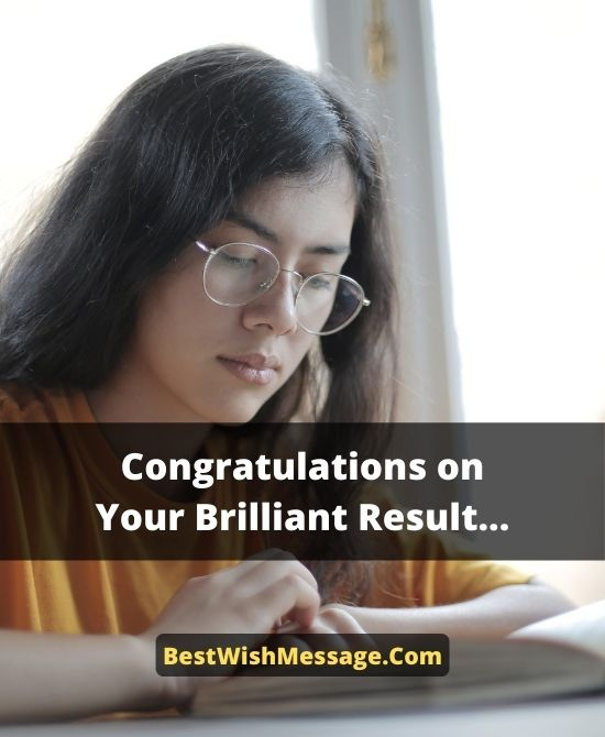 Congratulations Messages for Success in Final Exam