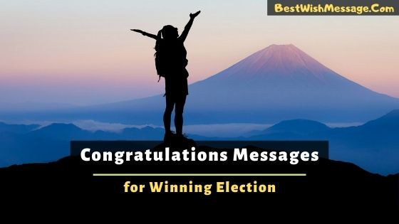 Congratulations Messages for Winning Election