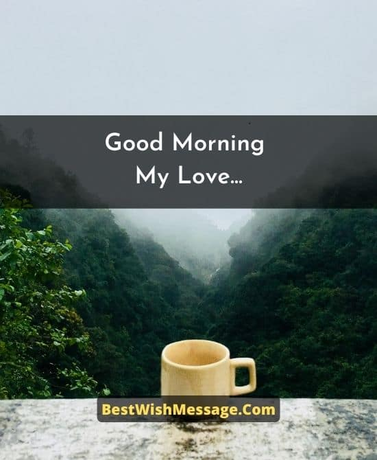 Good Morning Messages for Long Distance Boyfriend