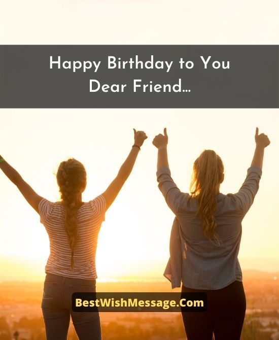 Happy Birthday Wishes to a Friend with a Good Heart
