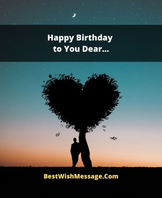 Long Heart Touching Birthday Wishes for Ex-Girlfriend