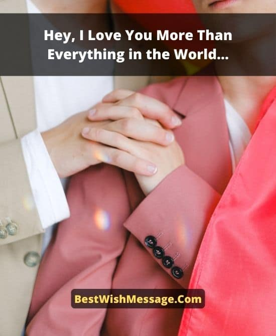 Touching Love Messages to Make Someone Special Cry