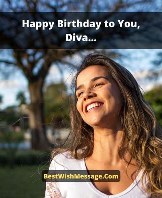 Birthday Wishes for Diva