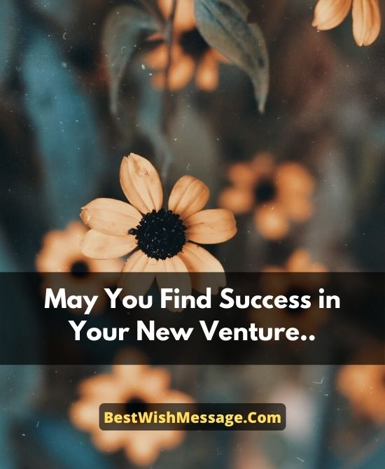 Wishes for Success in Business