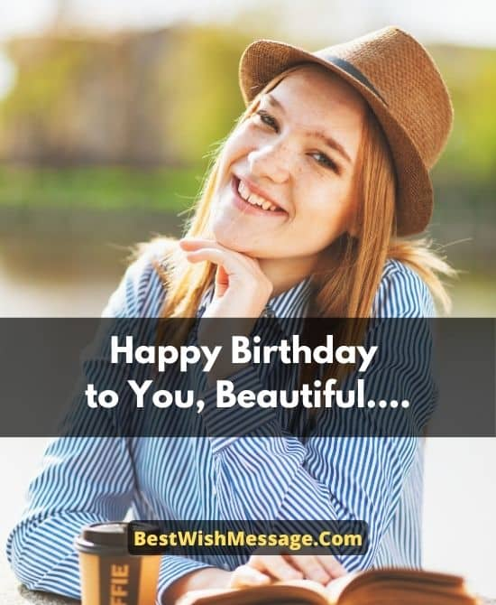 Birthday Messages for Beautiful Girl