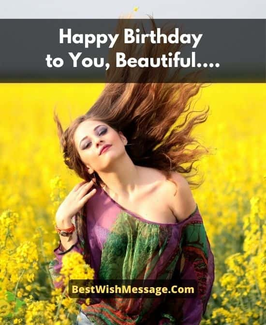 Birthday Wishes for Beautiful Mother