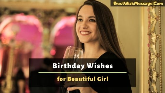 Birthday Wishes for Beautiful Girl