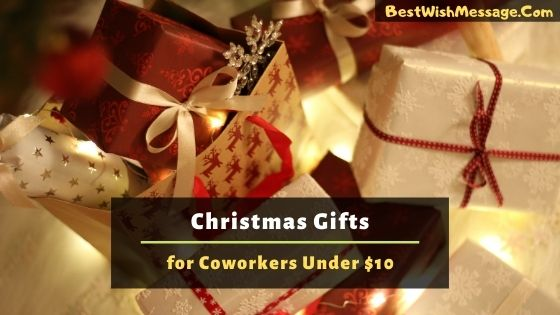 Christmas Gift Ideas for Coworkers Under $10