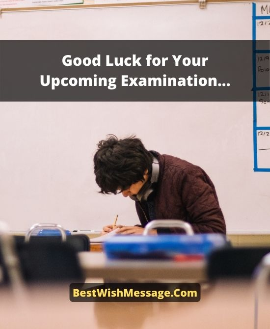Good Luck Wishes for Final Exams to Friends