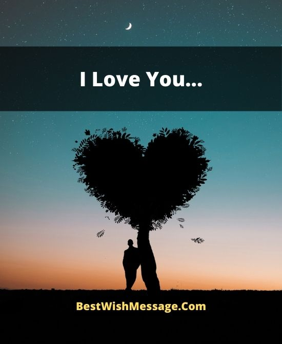 Romantic Love Messages for Would Be Husband