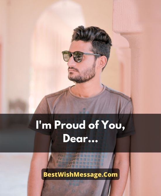 Proud of You Messages