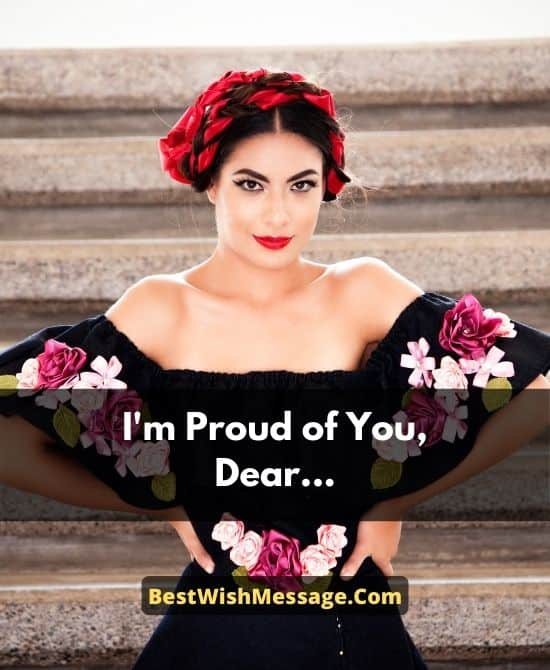 Proud of You Messages for Girlfriend