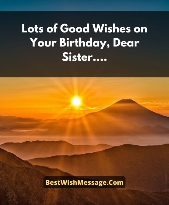 Godly Birthday Wishes for Sister