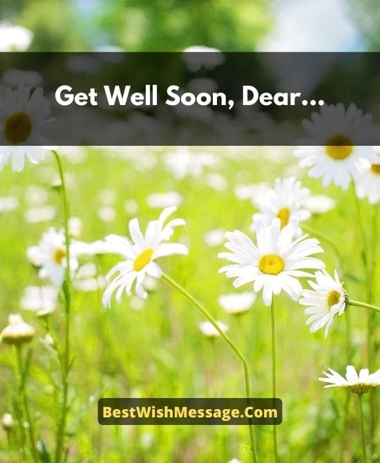 Quick Recovery Wishes for Friend's Son