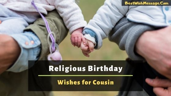 Religious Birthday Wishes for Cousin