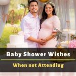 baby shower wishes when not attending