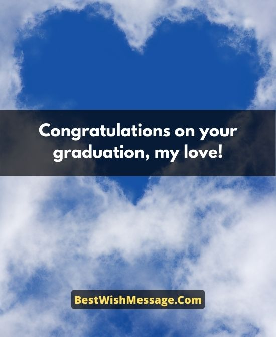 Graduation Wishes for Fiance