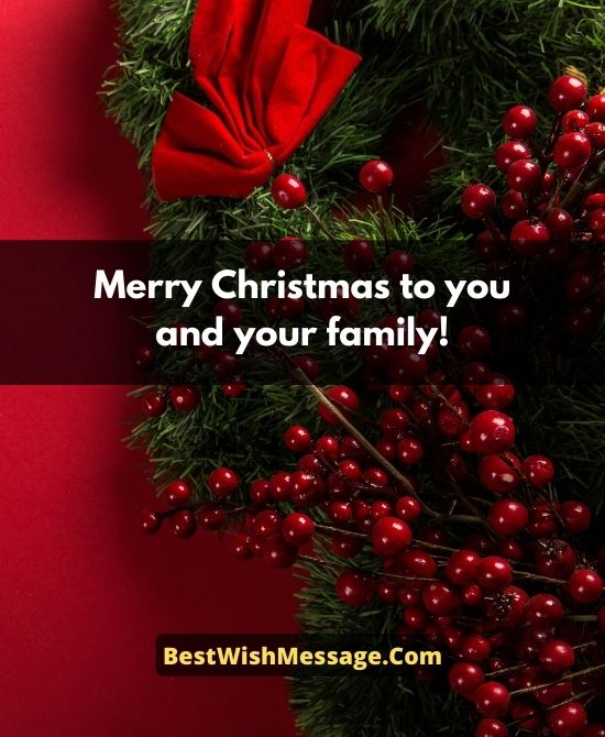 Professional Christmas Wishes for Colleagues