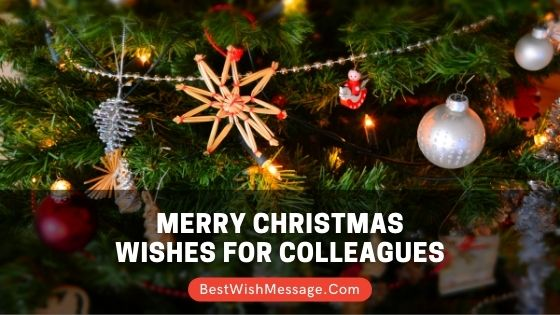 Merry Christmas Wishes for Colleagues