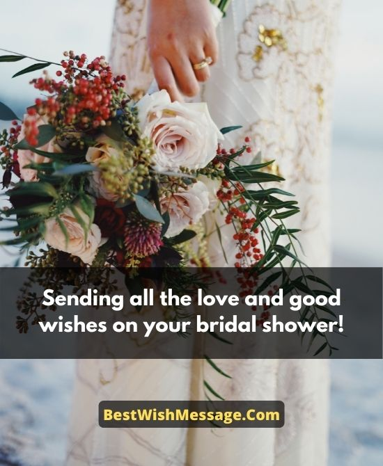 Bridal Shower Wishes for Daughter in Law